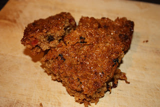 fruity flapjack recipe