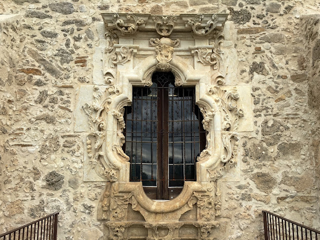 Building a strong family narrative: A quick visit to the San Antonio Missions, Mission San José | Rose Window