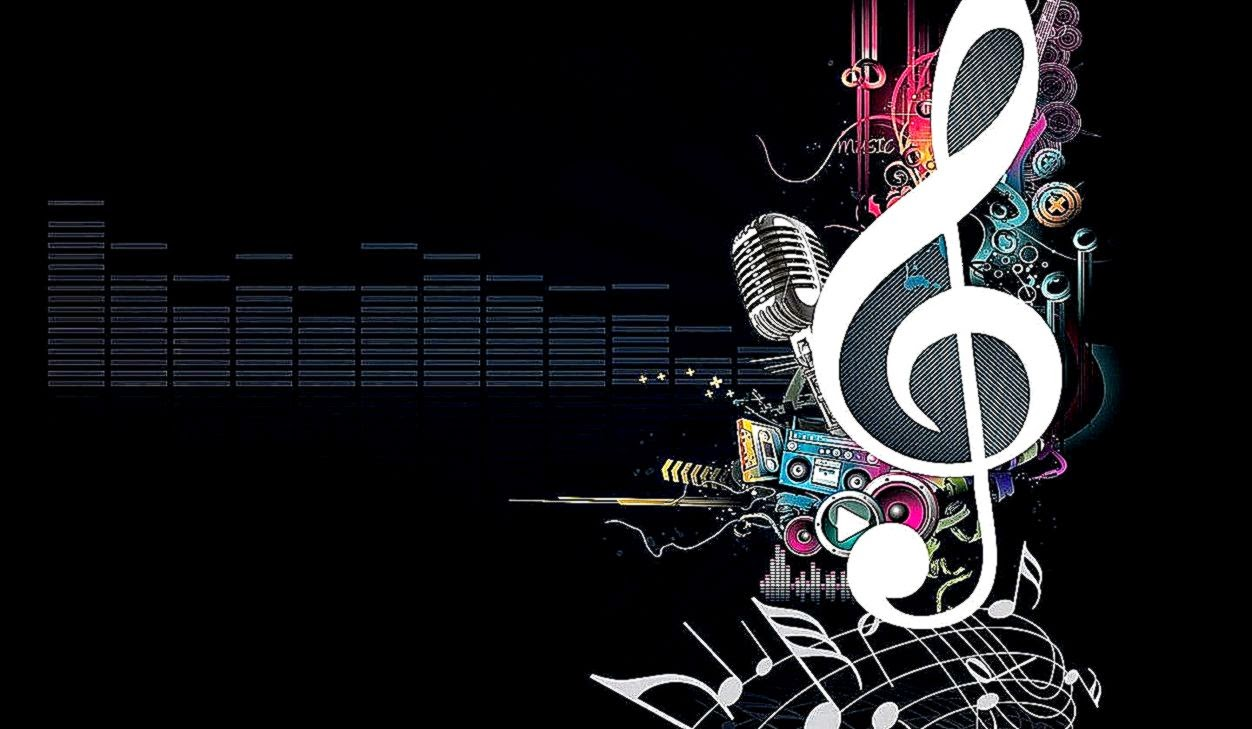 Music Abstract Vector Hd Background Wallpapers Hd ...