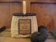Sharp Top Wool Basket