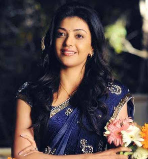 blue saree kajal image mr perfect.JPG
