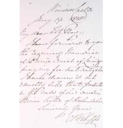 Naturalization case papers 1801-1871