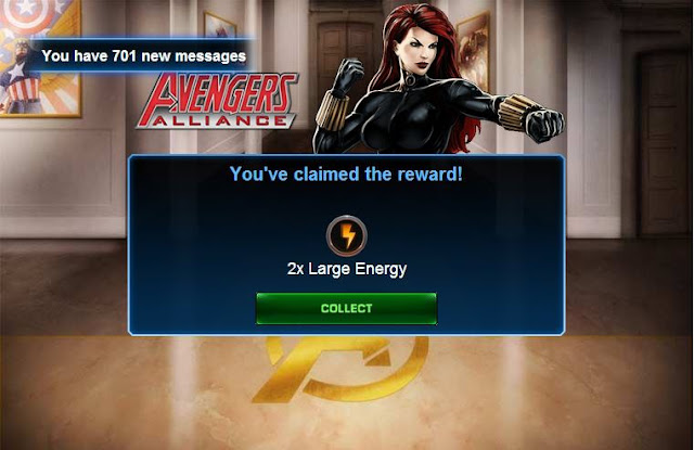 Marvel Avengers Alliance Energy