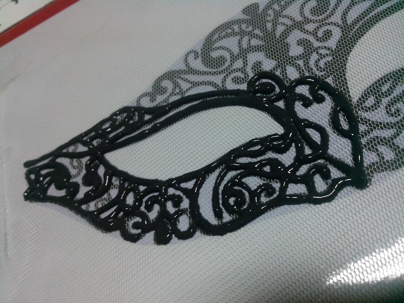 DIY Masquerade Mask (with template!) - The Blahger