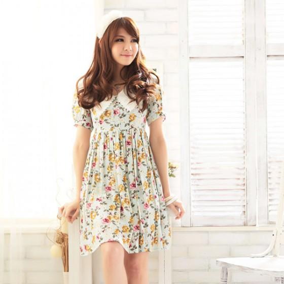 Demikian artikel kami mengenai model dress korea terbaru 2013 yang