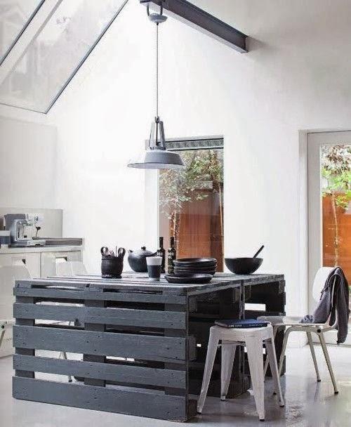 palets mesa cocina