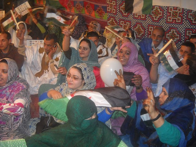 Carabana de Activistas en el Sahara Occidental : Smara