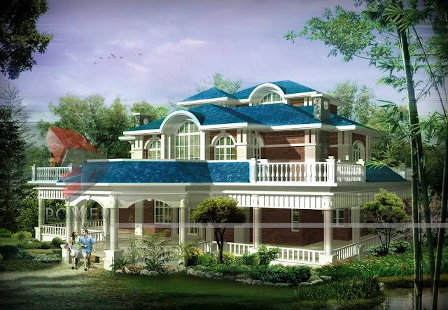 3d Exterior House Design,3d house animation