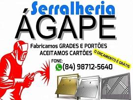 SERRALHERIA ÁGAPE