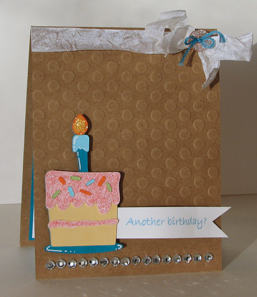 Scrapping Mommy: Bling It Up Birthday Card