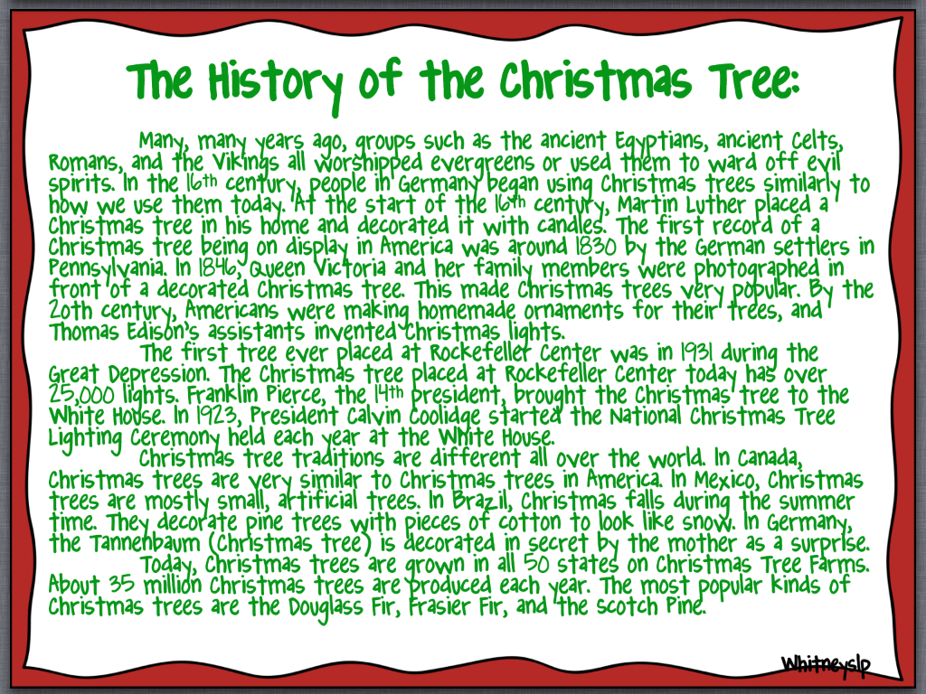 Best 28 Meaning Of Christmas Tree It S All About