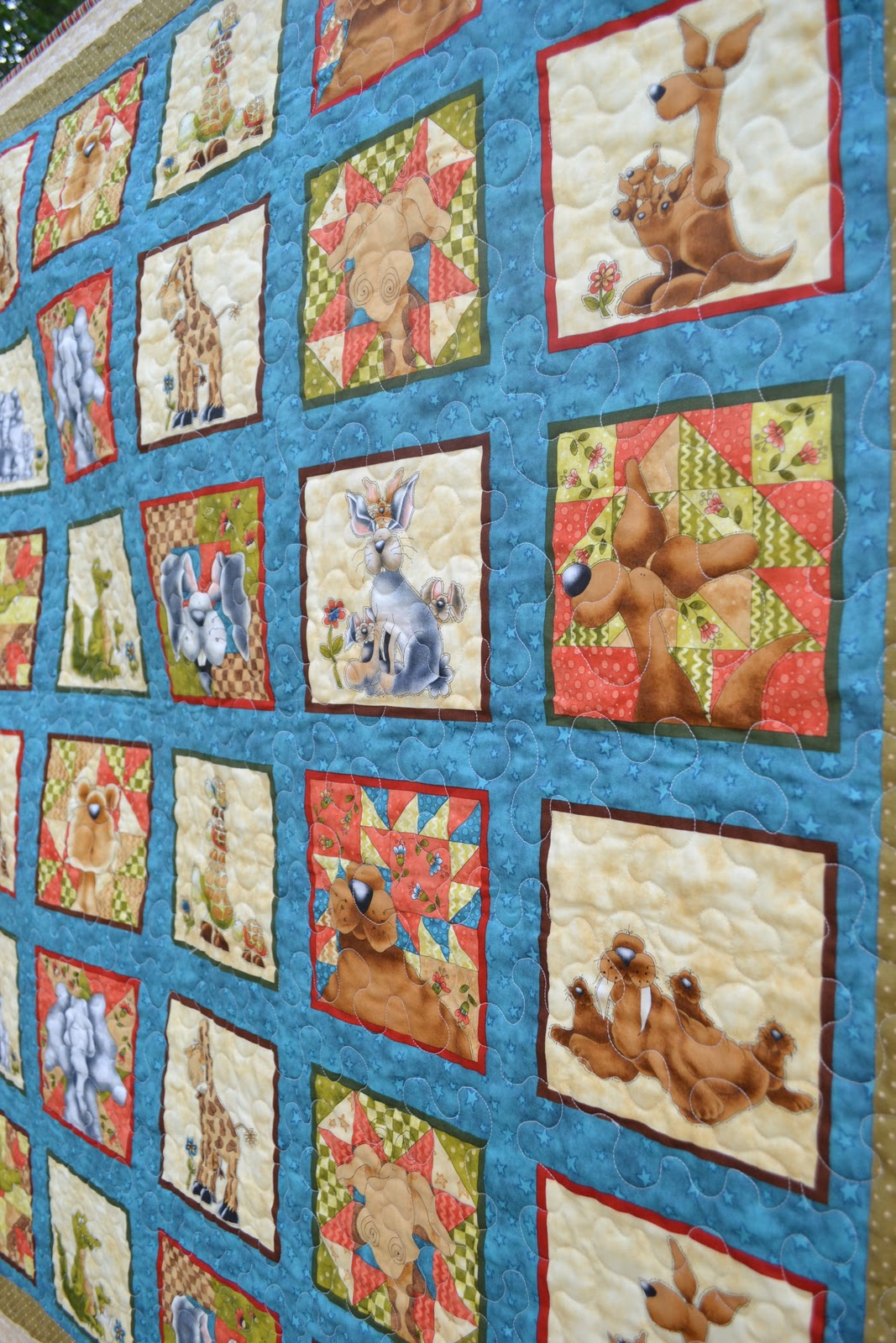 Sew in peace quilt gallery for Children s fabric panels