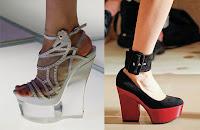 sepatu platform super tebal