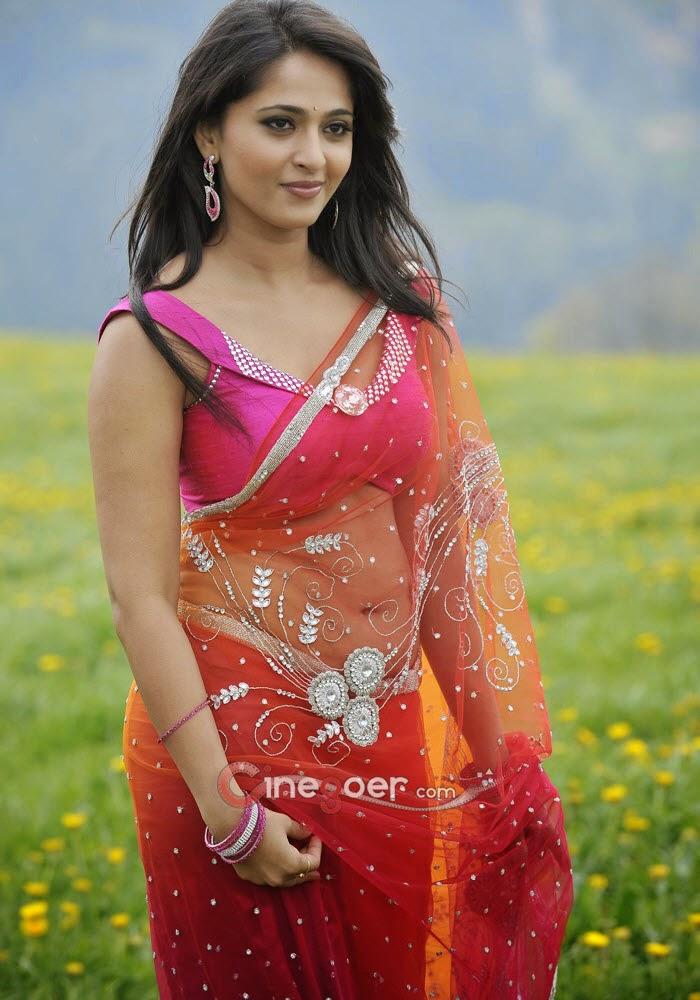 South indian Sexy actress Anushka Shetty Hot Face
