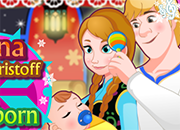 Anna y Kristoff care Princess
