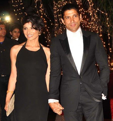 Bollywood star Farhan Akhtar and his wife Adhuna have ended their 15-year-long marriage.  They released a statement on Wednesday saying they had decided to mutually and amicably separate and requested media to respect their privacy.  The couple was known to be very close despite the substantial age difference between them - Adhuna was Farhan's senior by six years.