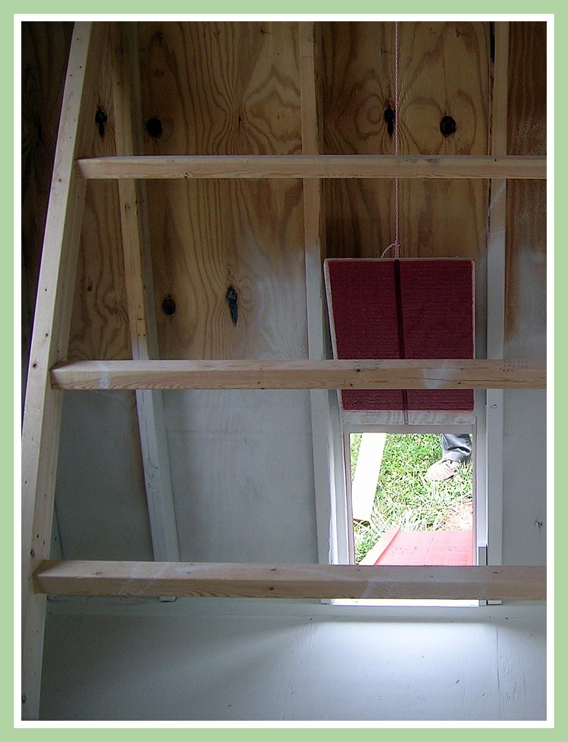 Chicken Coop Chicken Door and Roosting Perches & Wit\u0027s End Farm: Chicken Coop Chicken Doors Pezcame.Com