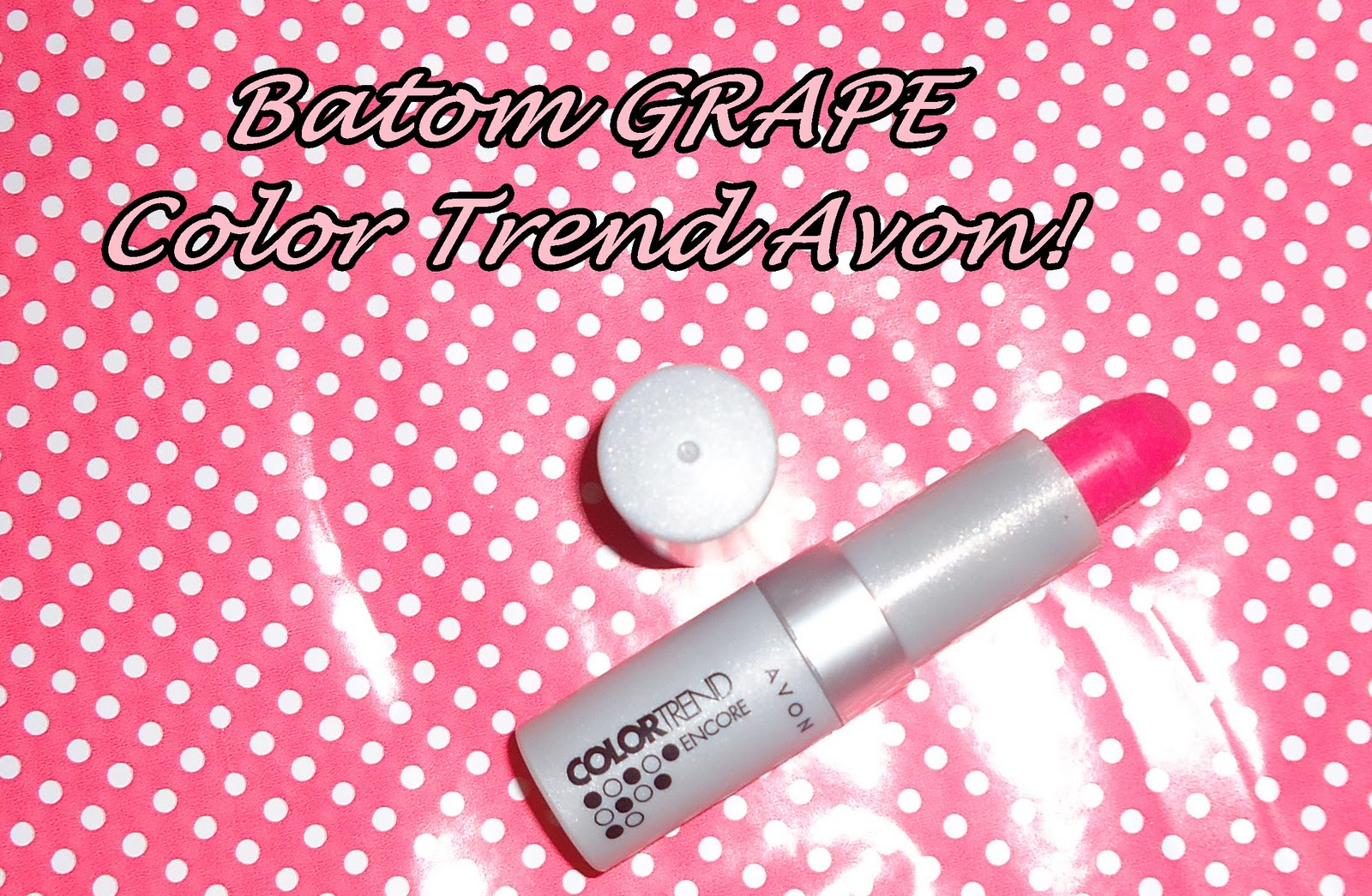 batom grape avon