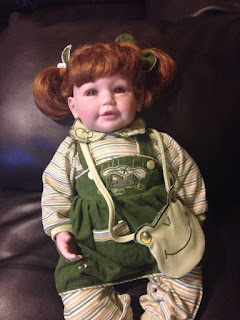 Froggy Fun Adora Baby Doll Green Eyes