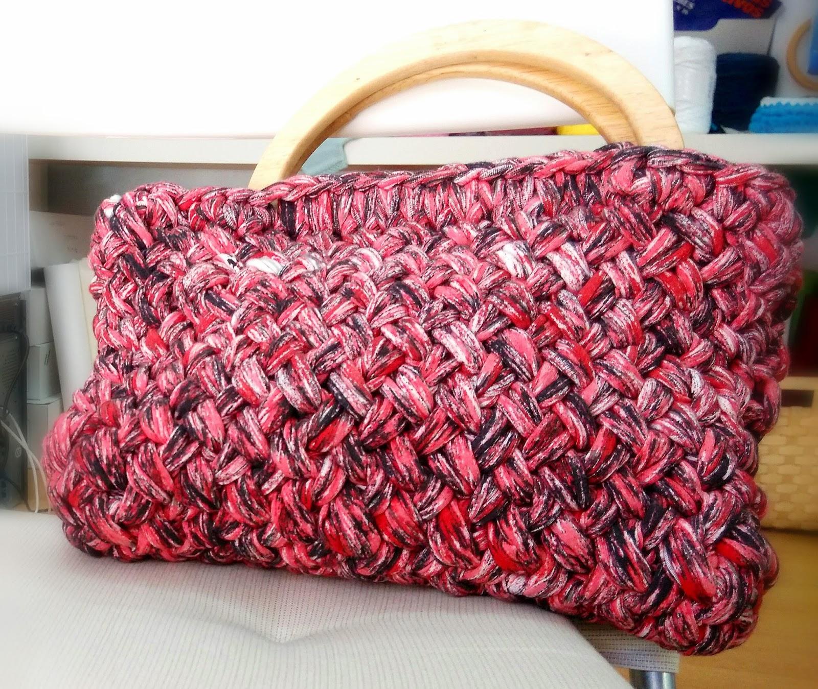 Novedades en el hilo rojo trapillo - Tejer con trapillo ...