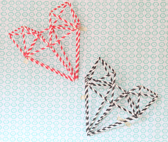 Himmeli hearts valentines day 2 blank