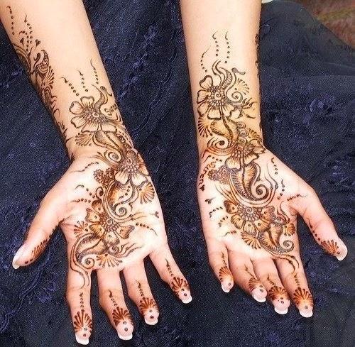 Beautiful Latest Eid Mehndi Designs Wallpapers Free Download