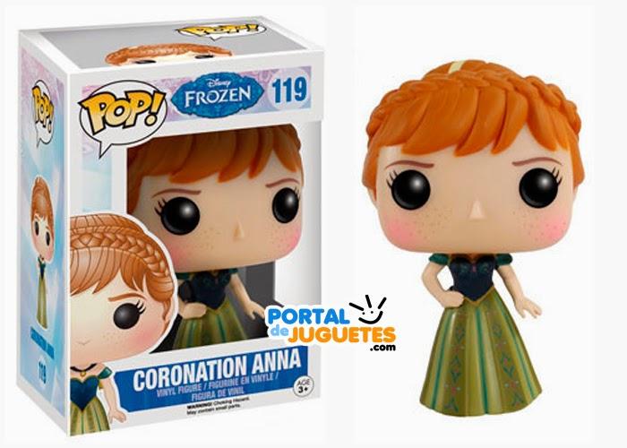 figura anna coronacion frozen funko