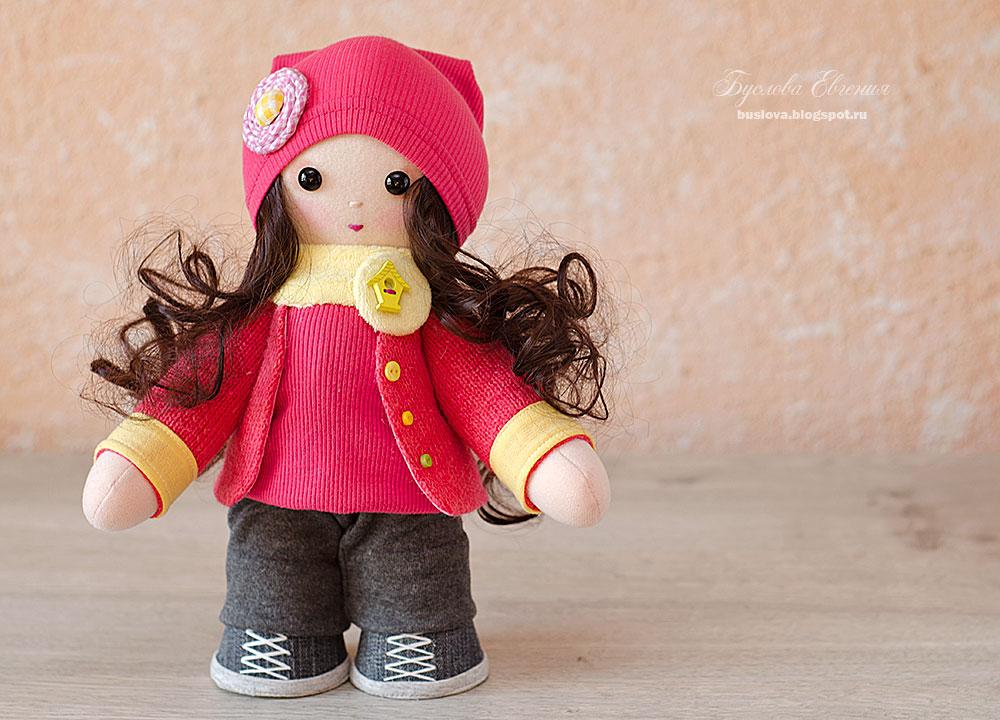 кукла, текстильная кукла, интерьерная кукла, ручная работа, Буслова Евгения