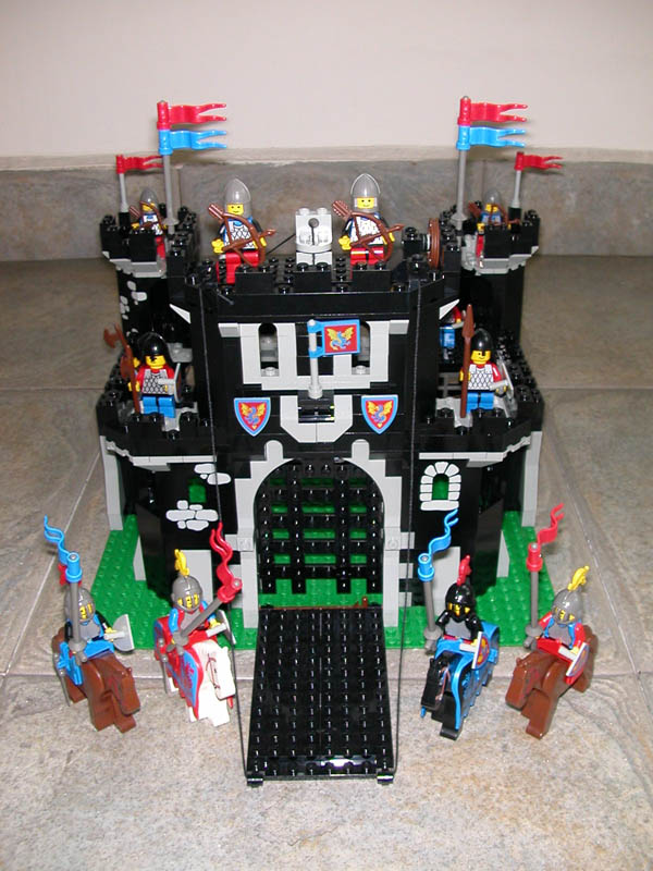 how to build a castle out of legos
