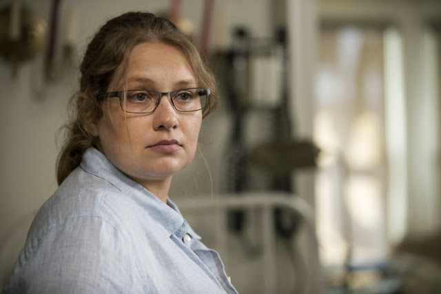 Merritt Wever como Denise – The Walking Dead _ sexta temporada, Episode 2 – Photo Credit: Gene Page/AMC
