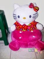 Sofa Boneka Chubby Hello Kitty