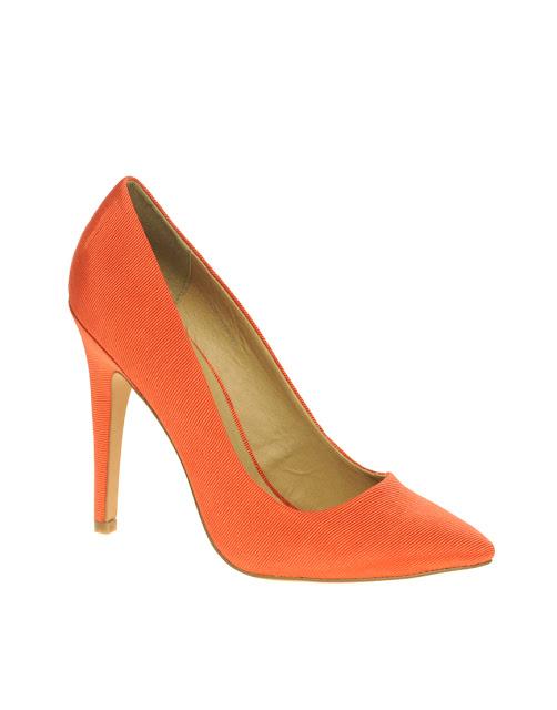 Zapatos Naranja Coral
