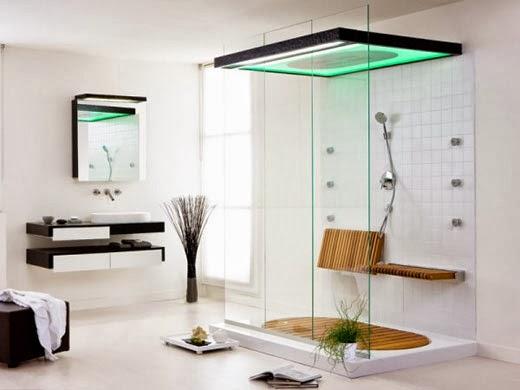 Iluminacion Baño Minimalista:Multinotas: Diseño de Baños Minimalistas,