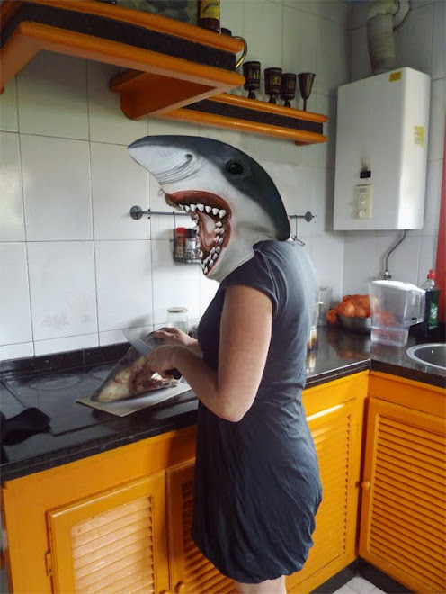 un tiburon en mi congelador