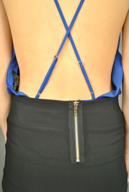 DIvaz Boutique- Grand Central Clothing- Bodysuit- Chiffon Bodysuit