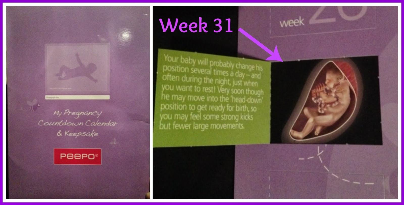 my pregnancy countdown calendar  u0026 keepsake review  u2013 the