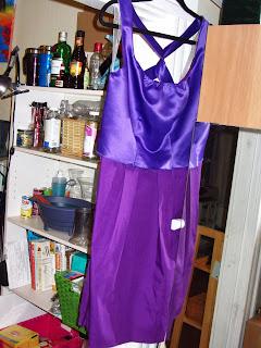 Assembly of the bridesmaid dresses | Bobbins of Basil