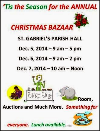 12-5/6/7 Annual Christmas Bazaar