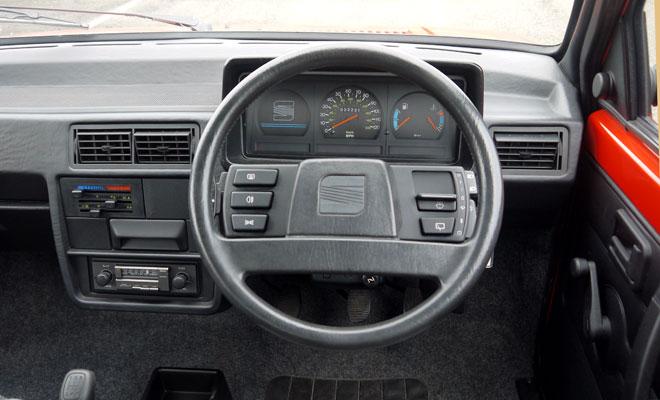 Mk1 Seat Ibiza cockpit