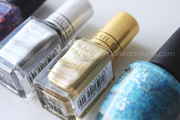 Barry M golden foil polish
