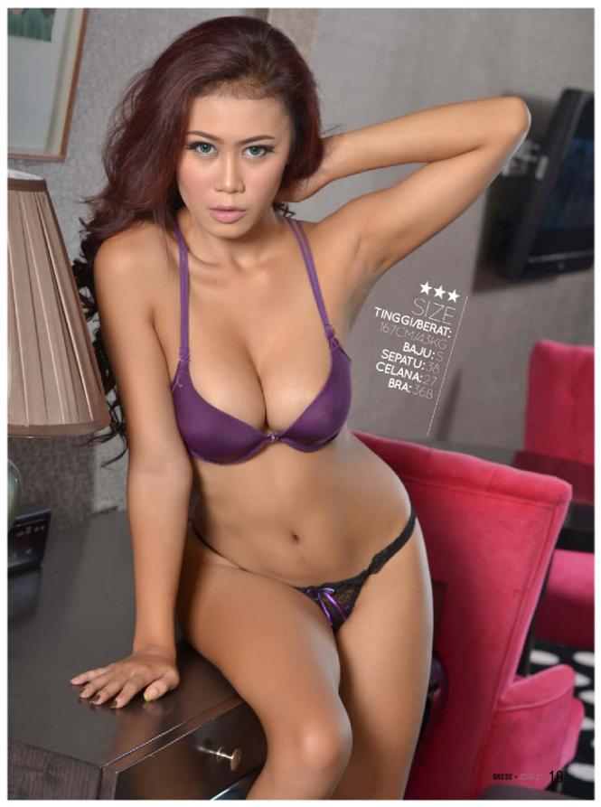 Hot Photo Gavriena Astaris Purple Lingerie On Gress Magazine, | Bikini ...