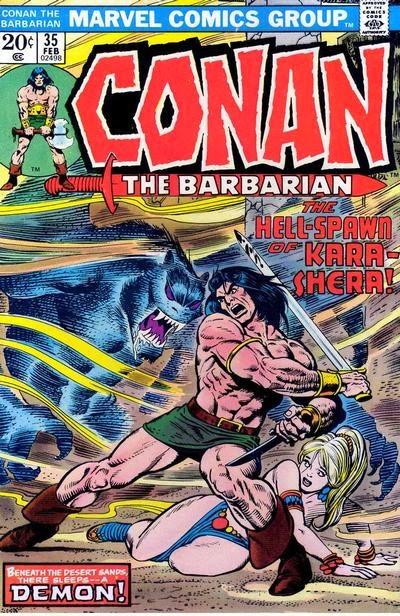 Conan the Barbarian #35, Kara-Shera