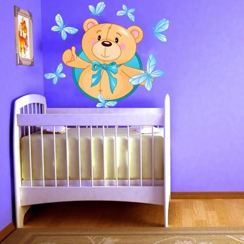 Décoration chambre bébé Stickers mignon