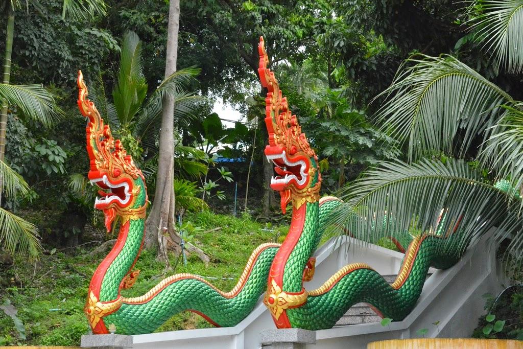 Wat Suvan Patong Beach dragon