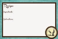 Recipe Card, for You!