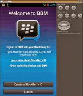 Download Apps Android di Blackberry Gratis