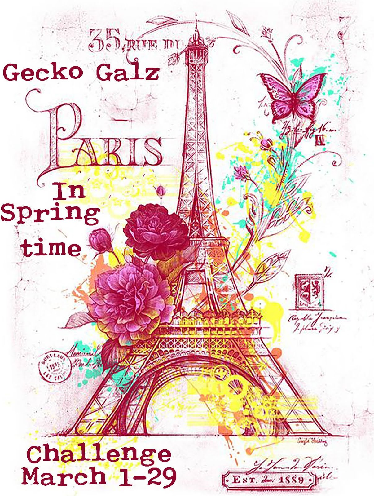 "March ""Springtime in Paris"" Challenge"