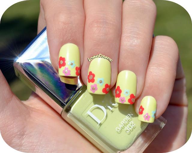 Nail Art Spring - Dior - Primavera 2016