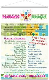 recreação infantil e aluguel de Brinquedos Bombando Brinque em Florianópolis