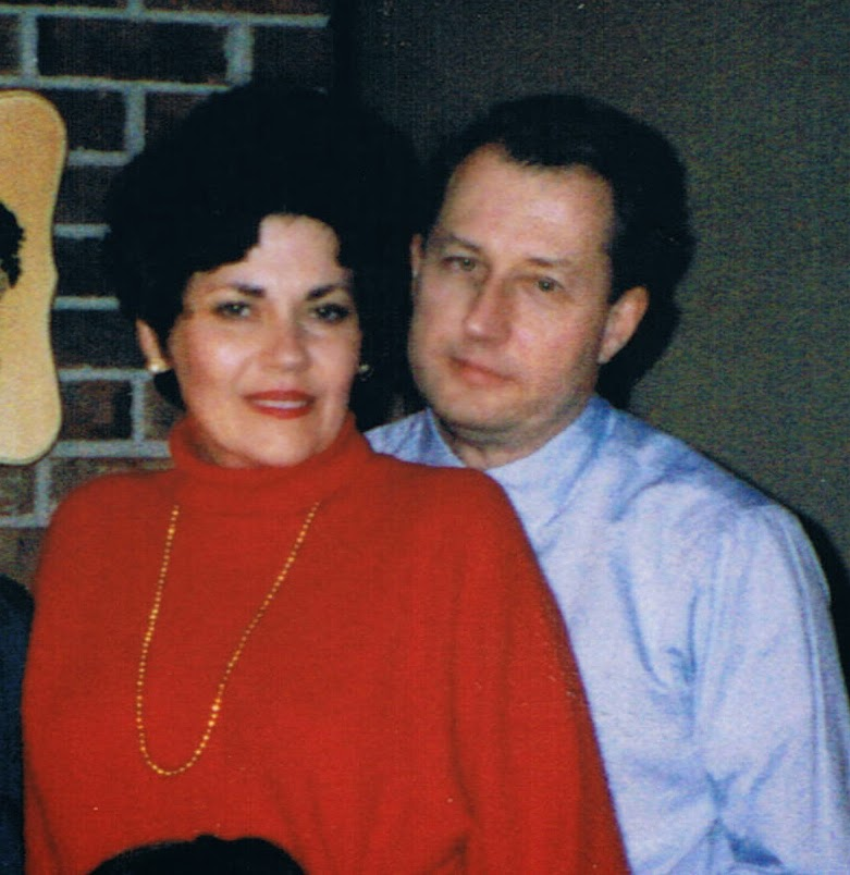Lee and Rick Schermerhorn - Christmas 1993